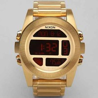 Nixon Unit Stainless Steel Watch- Gold One
