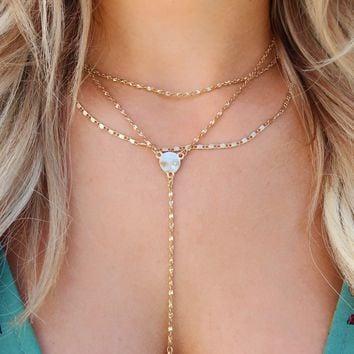 Always Right Necklace: Gold