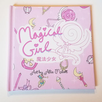 Magical girl artbook - Limited edition