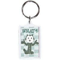 Felix The Cat - What 3D Keychain