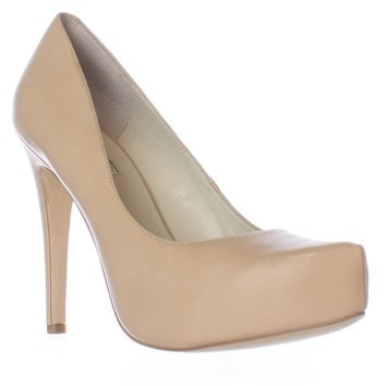 BCBGeneration Parade Platform Pumps - Warm Sand