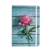 "Nastasia Cook ""Peonie"" Teal Pink Everything Notebook"