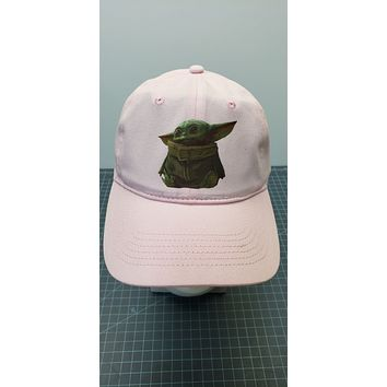 Star Wars The Mandalorian Baby Yoda The Child 6-Panel Twill Unstructured Cap Hat