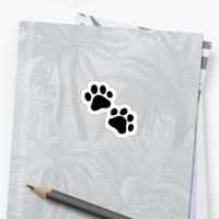 'Paws Emoji' Sticker by P H