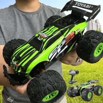 RC Car 2.4G 1/18 Monster Truck Remote Control Toys Controller Off-Road Vehicle Truck 15KM/H