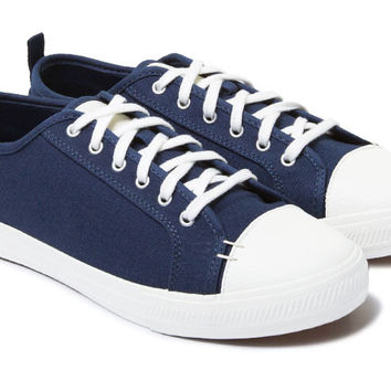 The Wilson - Navy // White Sole