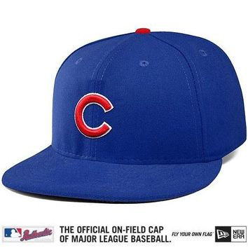 Chicago Cubs Authentic Collection On-Field 59FIFTY Game Cap