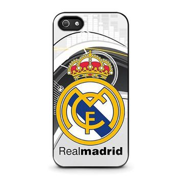 real madrid fc iphone 5 5s se case cover  number 1
