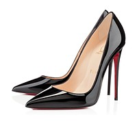 Christian Louboutin Cl So Kate Black Patent Leather 120mm Stiletto Heel Fw13 - Best Online Sale