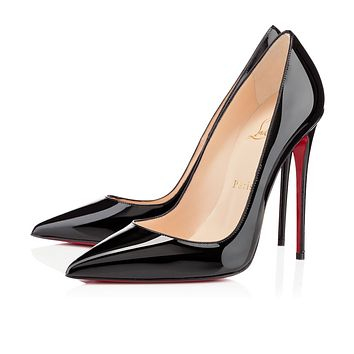 Best Online Sale Christian Louboutin Cl So Kate Black Patent Leather 120mm Stiletto Heel Fw13