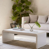 Hamilton Curved Coffee Table - Urban Outfitters