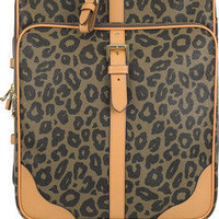 Mulberry | Leopard Trolley scotch grain suitcase | NET-A-PORTER.COM