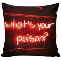 What's your poison pillow.