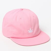 PacSun Leaf Pink Strapback Hat at PacSun.com
