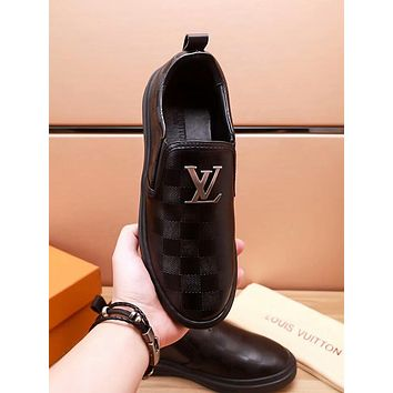 LV Louis Vuitton New Popular Man Personality Shoes Leather Shoes I-OMDP-GD