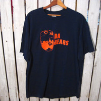 DA BEARS T-Shirt, Size XL, Chicago Bears, Saturday Night Live, Bill Swerski Superfan
