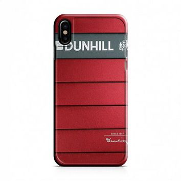Dunhill Cigarette Red iPhone X Case