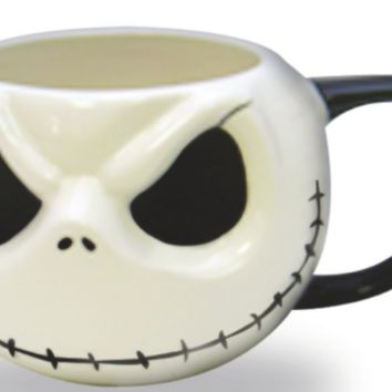 Disney Nightmare Before Christmas Jack Skellington 3D Ceramic 18 oz. Coffee Mug