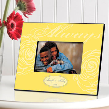 Personalized Couple's Frame - Always