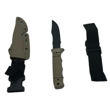 Military Enthusiasts Birthday Gift CS CF Cosplay Rubber Dagger Training Props First Blood 1:1 Tactical Knife Model Toy Sword