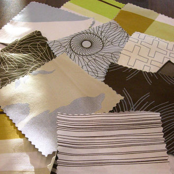 Fabric Swatches and Color Cards