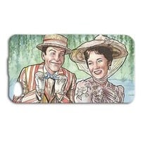 Custom Cool Disney Mary Poppins Cute Case iPhone Cover Disney Fun Cool  Artistic
