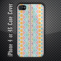 Unique motiv Pattern Custom iPhone 4 or 4S Case Cover