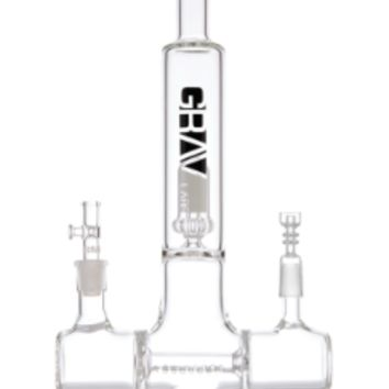 "13"" Grav Labs Dual Action Inline Water Pipe"