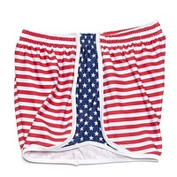 Women's Sam's Shorts in Red, White and Blue by Krass & Co.