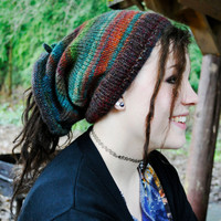 Jewel Shape-Shifter: Dread Beanie Hat Scarf