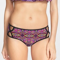 Women's The Bikini Lab Side Cutout Hipster Bikini Bottoms