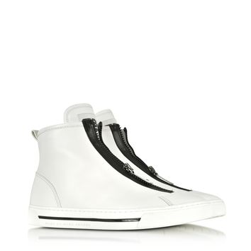 Marc by Marc Jacobs Cute Kicks White Vachetta Sneaker