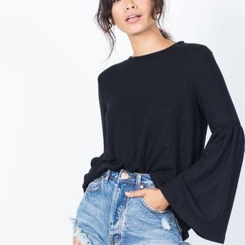 Ella Bell Sleeve Top