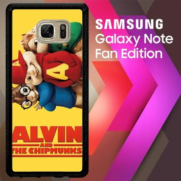 Alvin And The Chipmunks F0267 Samsung Galaxy Note FE Fan Edition Case