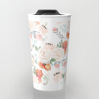 poppies Travel Mug by sylviacookphotography