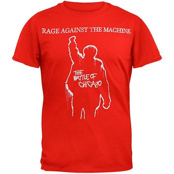 Rage Against The Machine - Battle Of Chicago T-Shirt