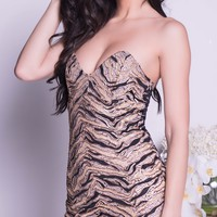 PARIO LACE DRESS IN BLACK WITH GOLD - MORE COLORS