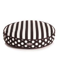 Sleeping In Stripes Dog Bed