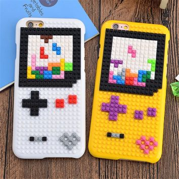 Super Mario party nes switch Matcheasy  for iPhone X 7 6 6S Plus Legos Cartoon Cute Case s Pixels Style Funny Bricks s Cute Minions Cover AT_80_8