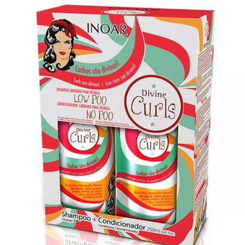 Inoar Divine Curls Home Care Kit 250ml/8.45fl.oz