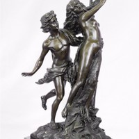 Apollo and Daphne Bronze Sculpture