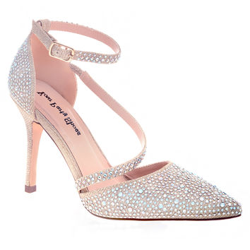 Your Party Shoes Verona Beaded Prom Heels