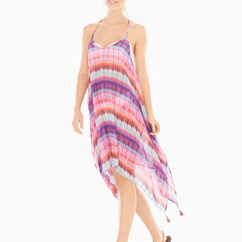 Soma Dream Weavers Handkerchief Hem Coverup Dress