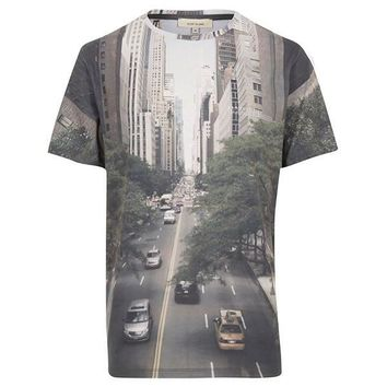 Manhattan Street Life All Over Print T-Shirt