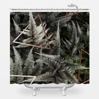 Fern art Shower Curtain