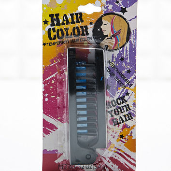 Hair Chalk Comb in Blue - Urban Outfitters