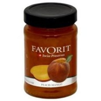 Favorit Preserves, Peach (6x12.3Oz)