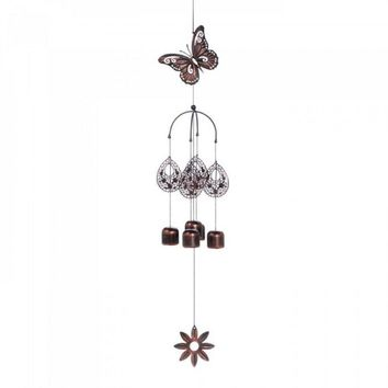Butterfly Bell Wind Chimes
