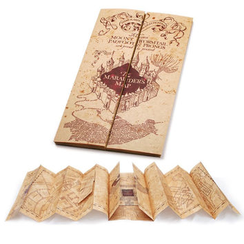 universal studios the wizarding world of harry potter marauder's map new