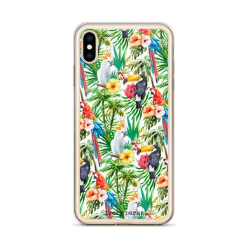Tucan Do It Floral iPhone Case